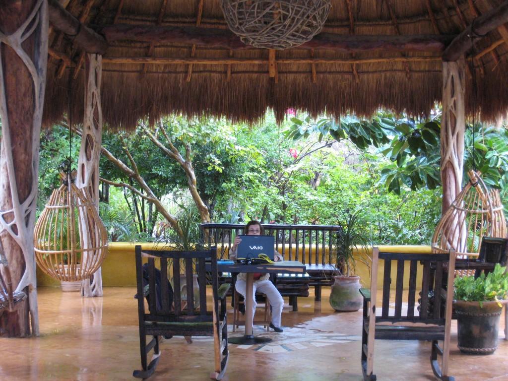 Maya Palms Resort in Mahahual, Mexico