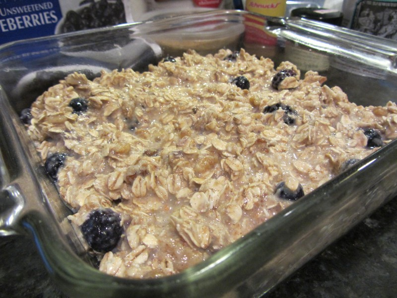 Amish baked oatmeal with berries - Future Expat