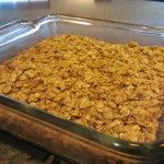 Amish Baked Oatmeal in baking dish