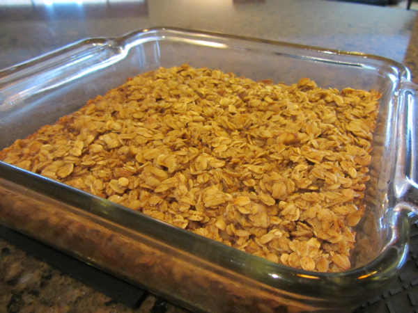 Eating Healthy Recipe ~ Amish Baked Oatmeal