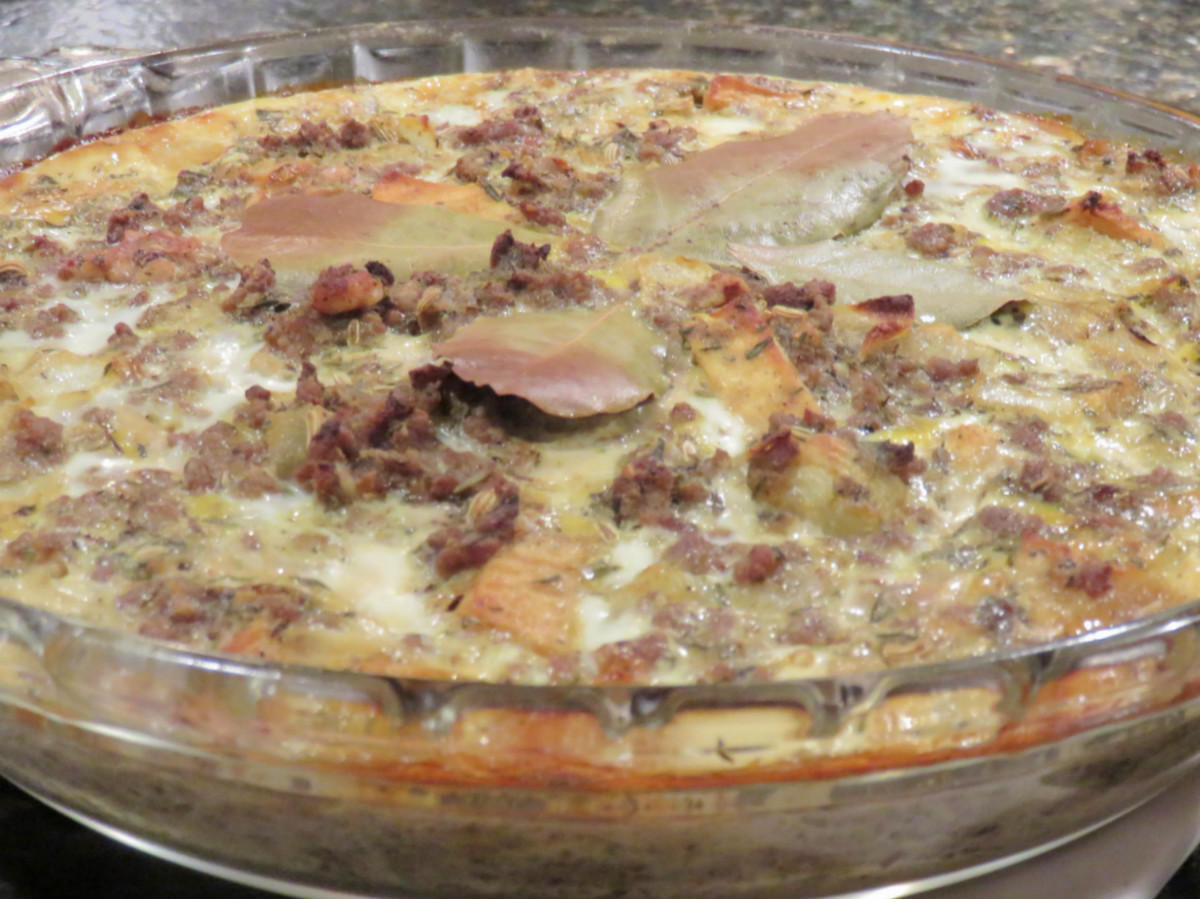 Eating Healthy Recipe ~ South African Bobotie