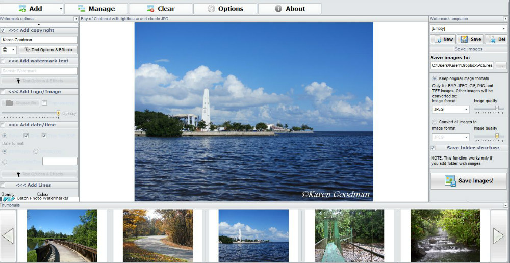 Protect Your Photos on the Web with Watermarking