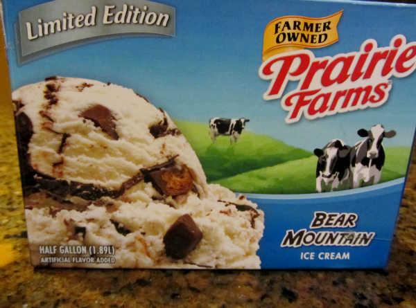 Ice cream carton