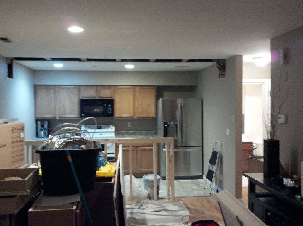 365 Project: 1/3/2013 Kitchen renovation