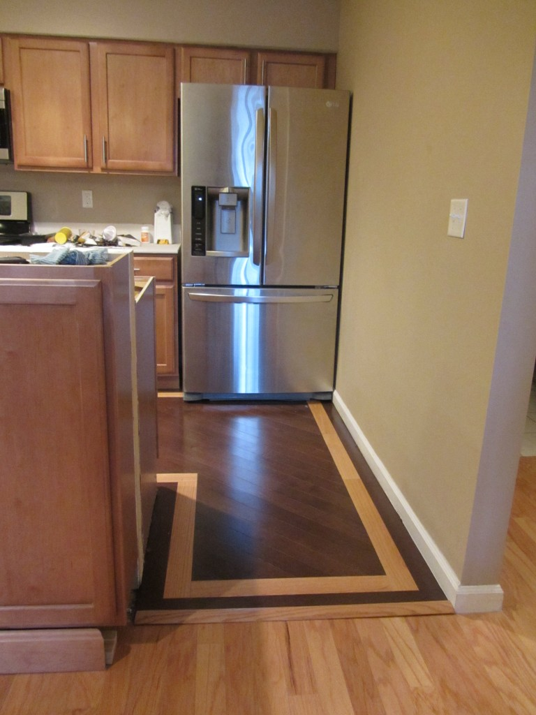 Kitchen Remodel - floor transition