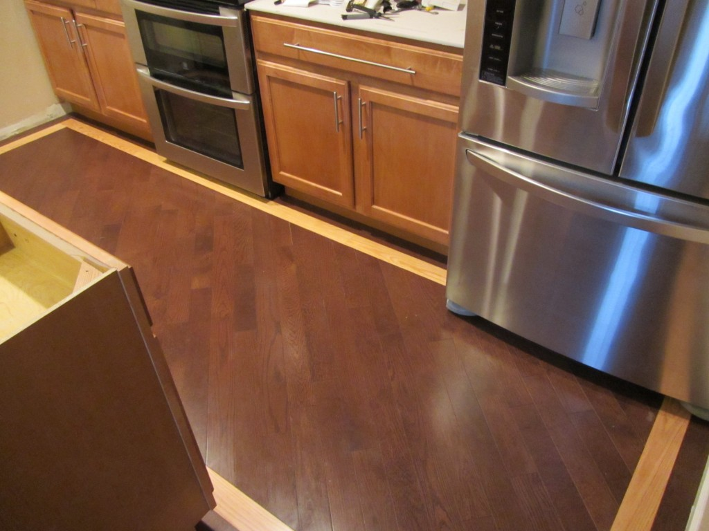 Kitchen Remodel - diagonal floors