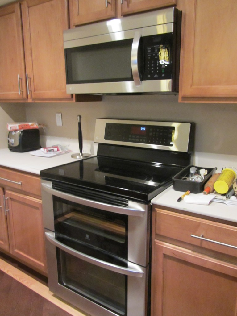 Kitchen Remodel - double oven and microwave