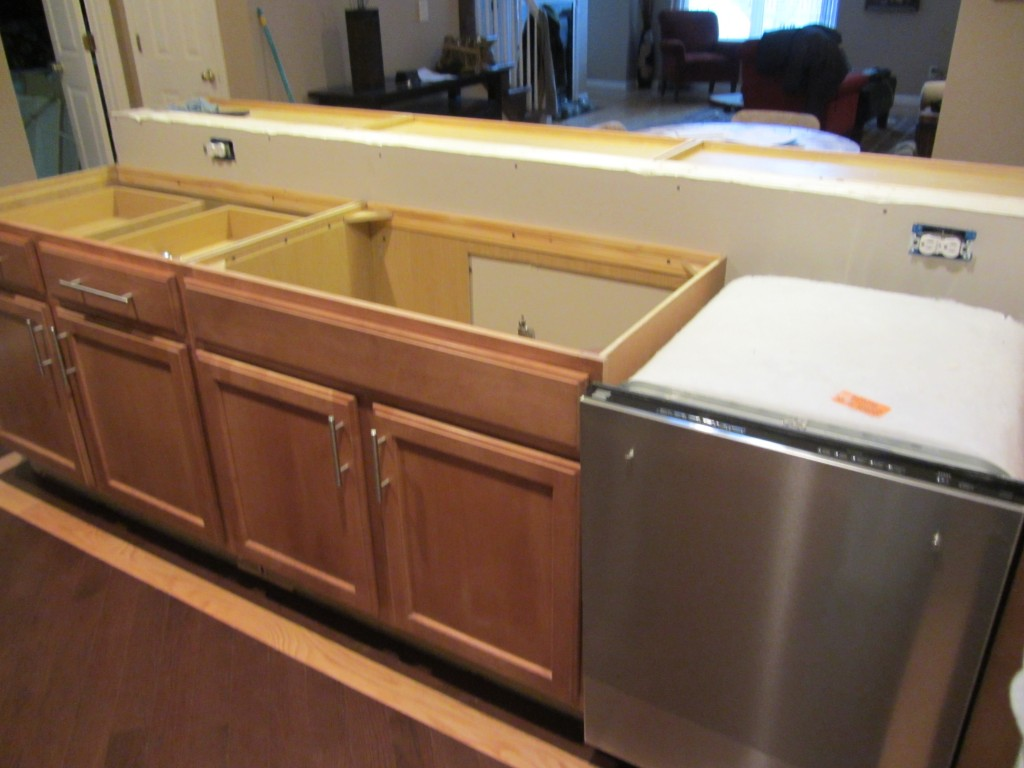 Kitchen remodel - new dishwasher