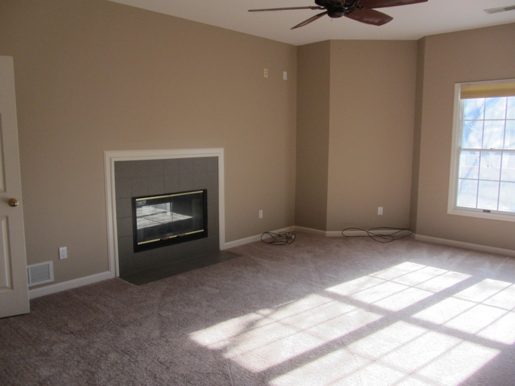 Master fireplace remodel