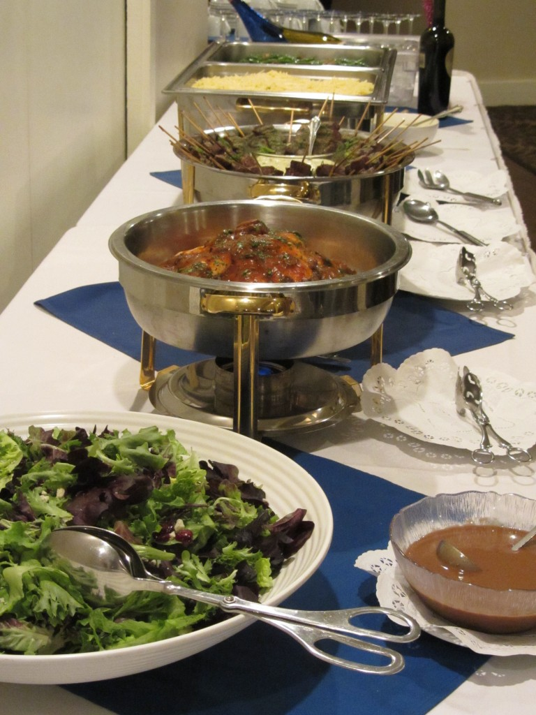 St. Louis Catering Company: Ces and Judy's - Arch City Homes #stlouis