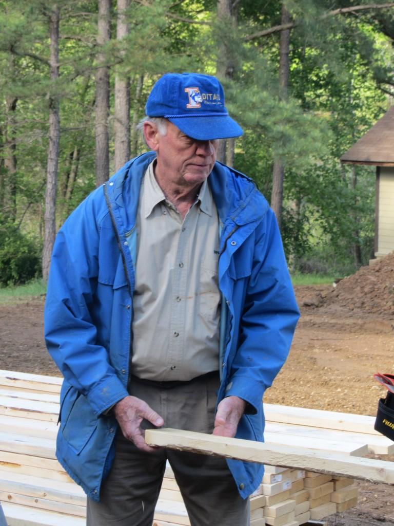 Sherwood Forest Camp Trades Weekend - senior volunteer