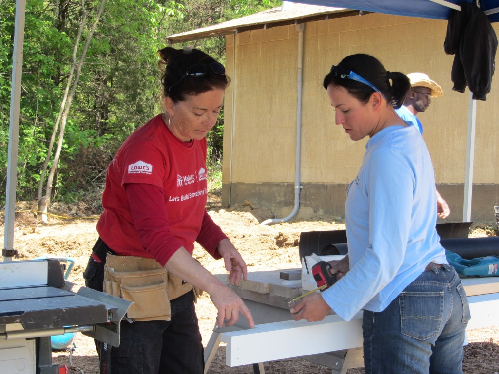 Sherwood Forest Camp Trades Weekend - women in construction