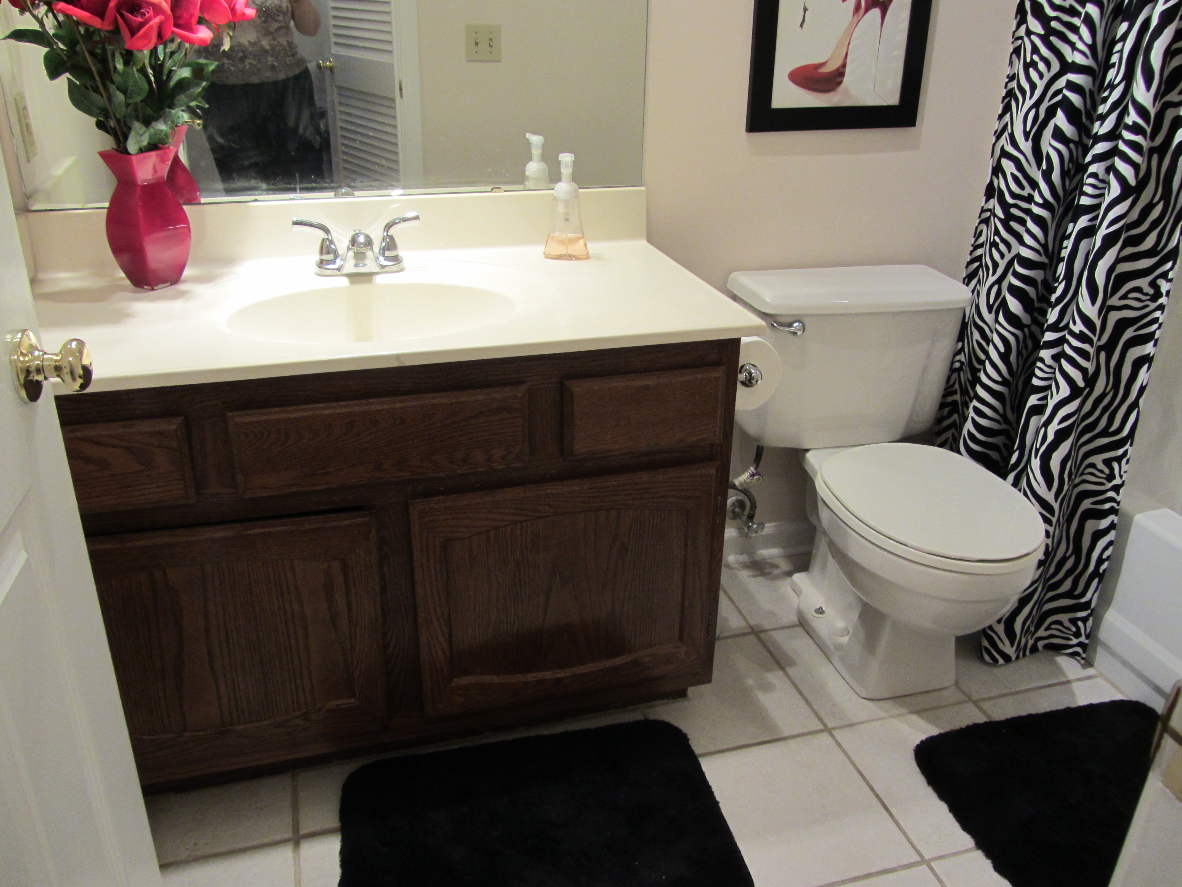 Small Bathroom Remodel On A Budget | Future Expat