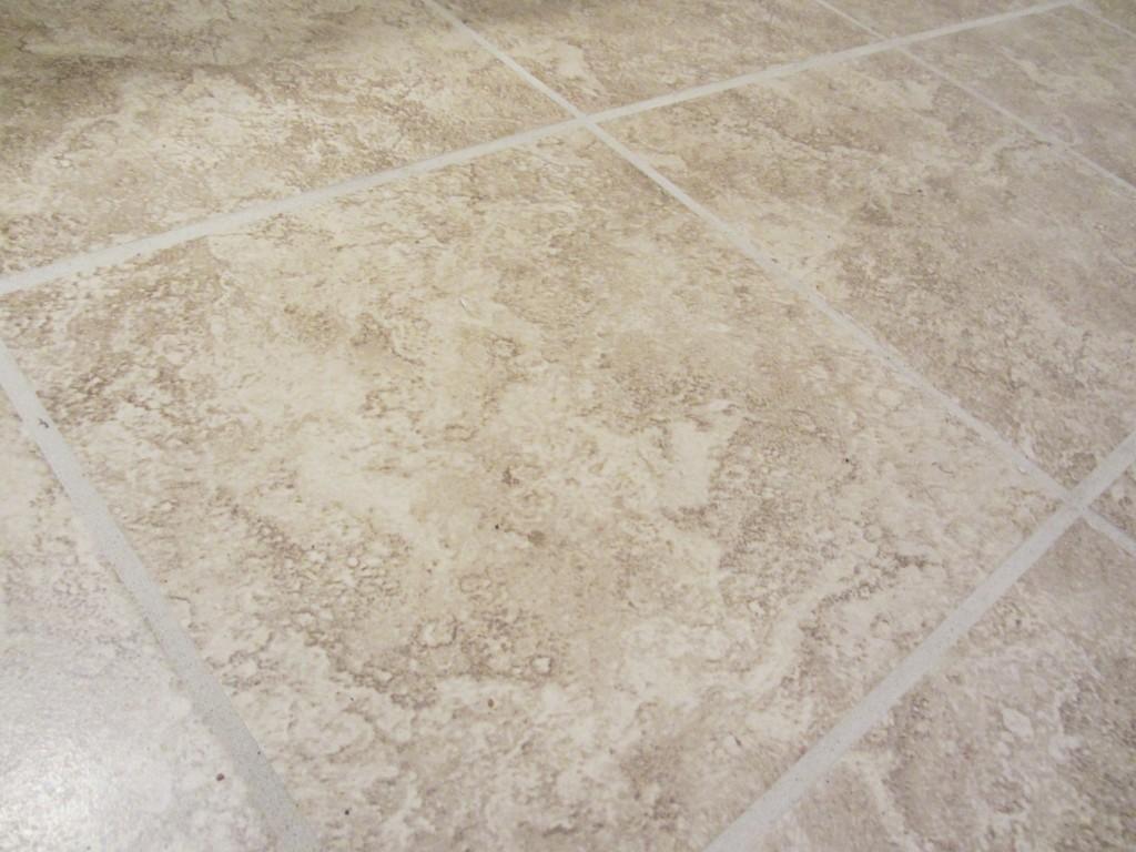 Bathroom project - new tile floor