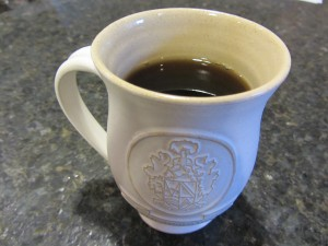 Zair Pottery coffee mug from Thornbury, England
