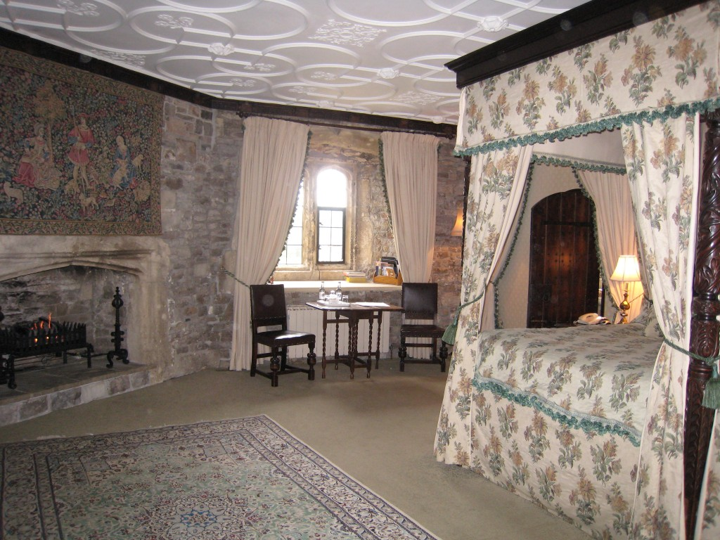 Thornbury Castle Hotel - room in turret