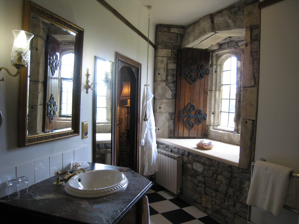 Thornbury Castle Hotel - bathroom