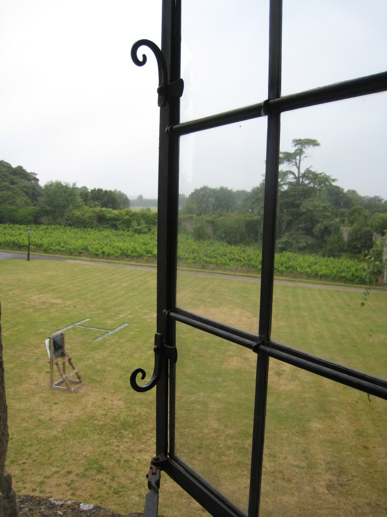 Thornbury Castle Hotel - window view