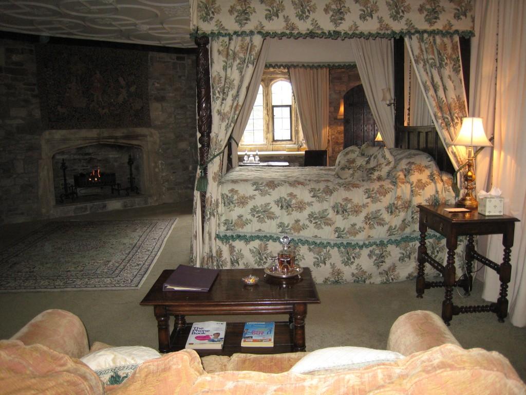 Thornbury Castle Hotel - room view