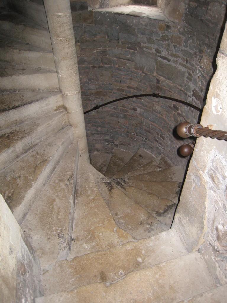 Thornbury Castle Hotel - stairwell