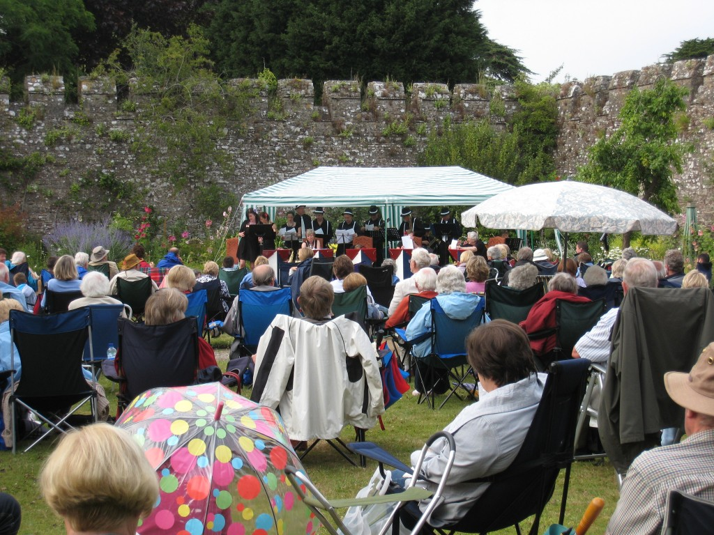 Thornbury Castle - outdoor concert