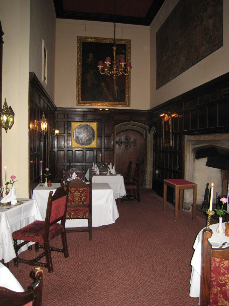 Thornbury Castle Hotel - dining room