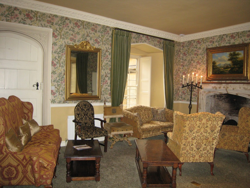 Thornbury Castle Hotel - living room