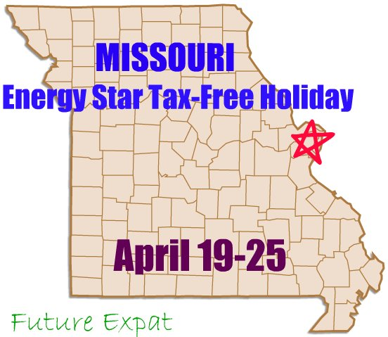 ... MO state sales tax if you purchase them between April 19 – April 25
