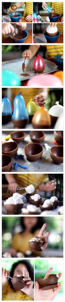 Pinterest chocloate bowls