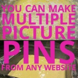 Pinterest - multiple photos tool