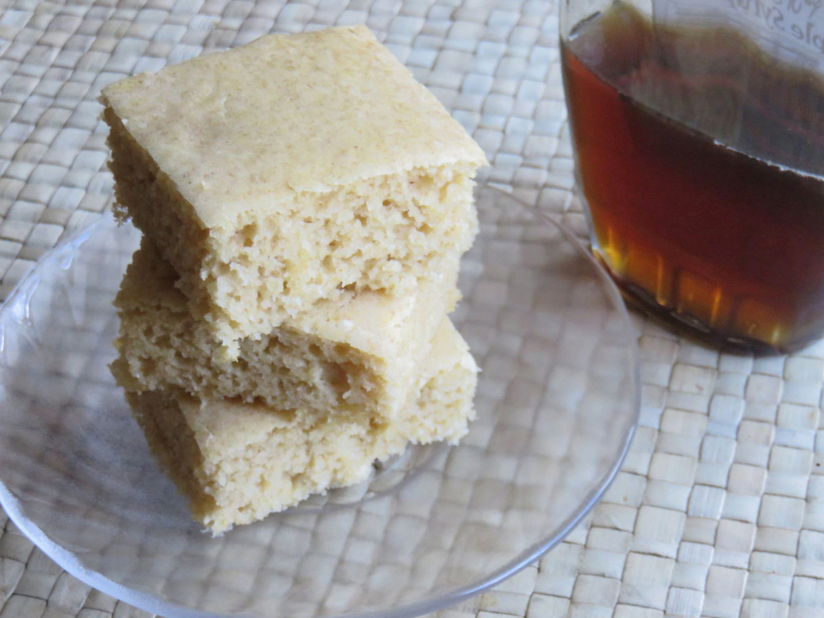 Easy Healthy Recipe: Baked Whole Wheat Pancake Squares