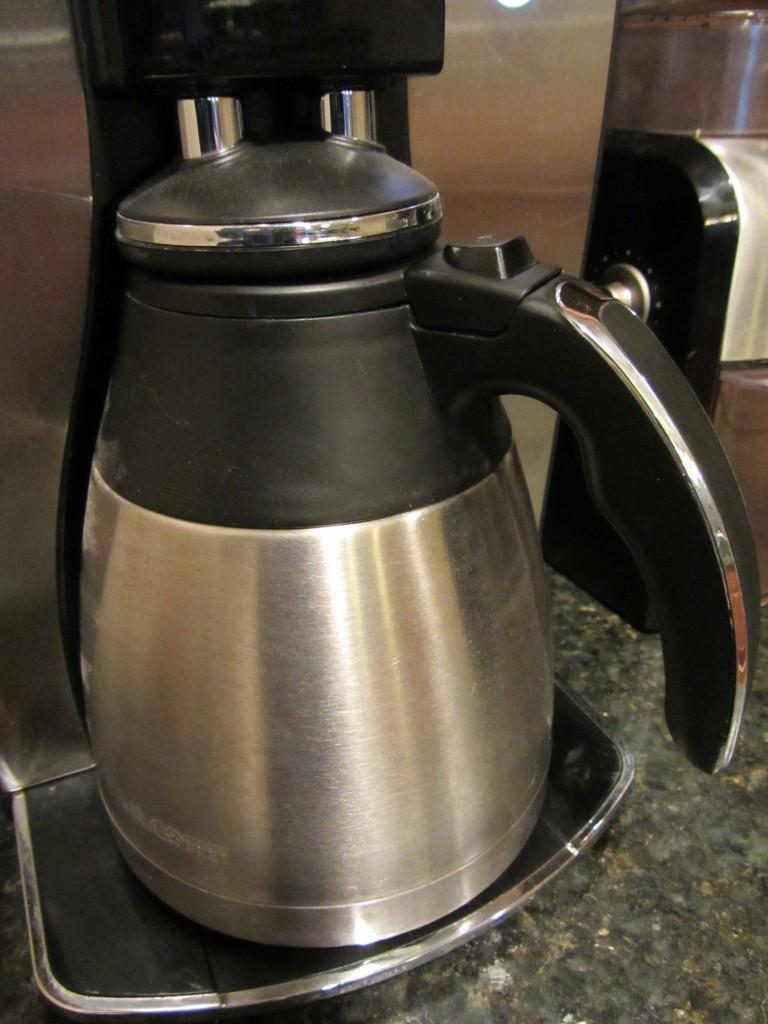 Mr. Coffee Optimal Brew Thermal Coffeemaker stainless thermal carafe