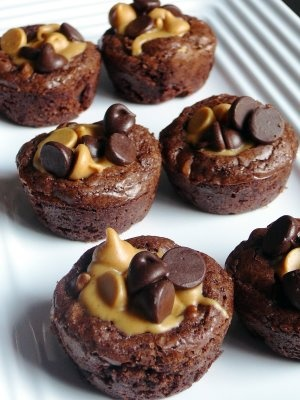 Pinterest peanut butter brownie