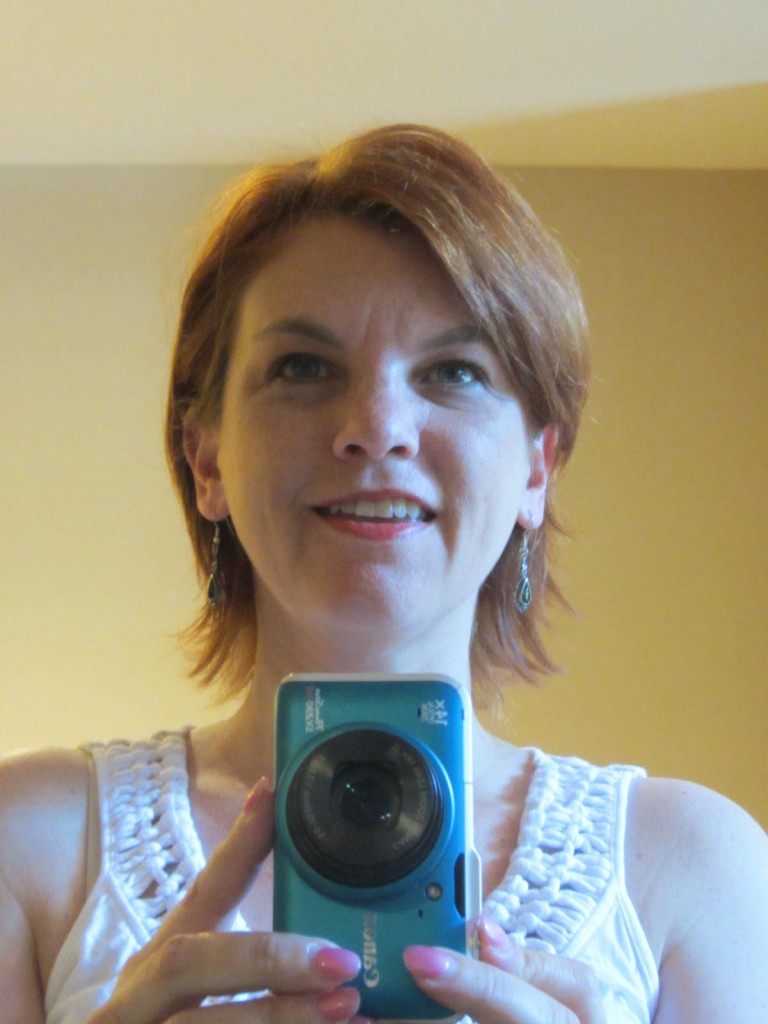 Karen with The V haircut