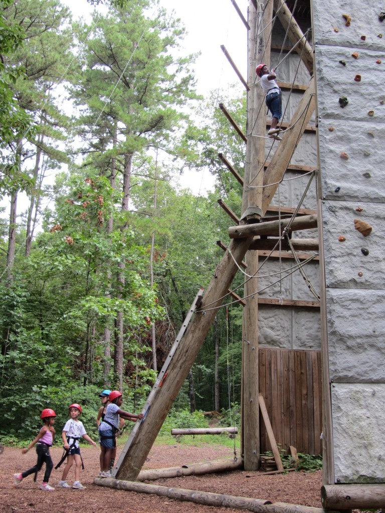 Sherwood Forest Camp - climbing tower