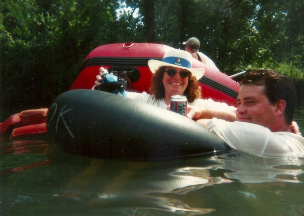 Float trip with tube 1997