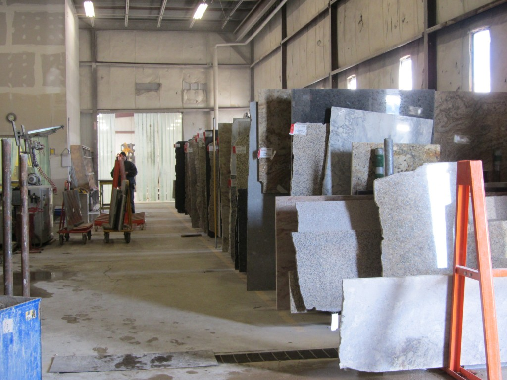 Granite Busters granite remnants