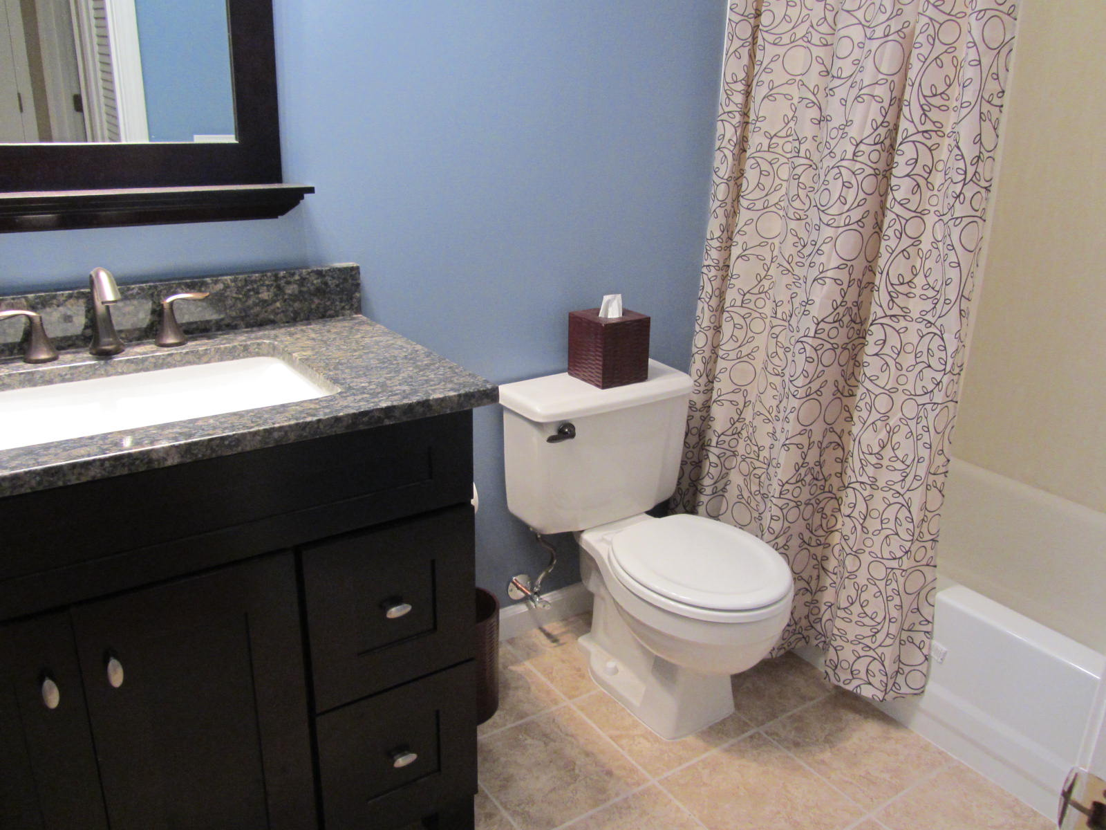 Small Bathroom Remodel On A Budget Future Expat - Bathroom remodel on a budget pictures