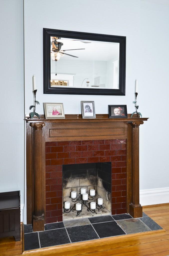 Fireplace at 2831 Shenandoah Ave (63104)