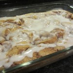 Pan Style Cinnamon Roll Cake - Future Expat