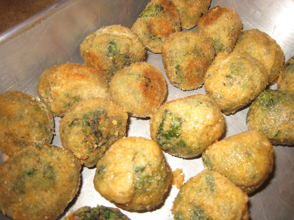 Spinach balls 1