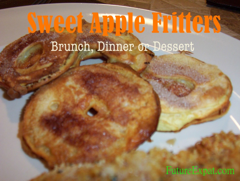 Sweet Apple Fritters recipe
