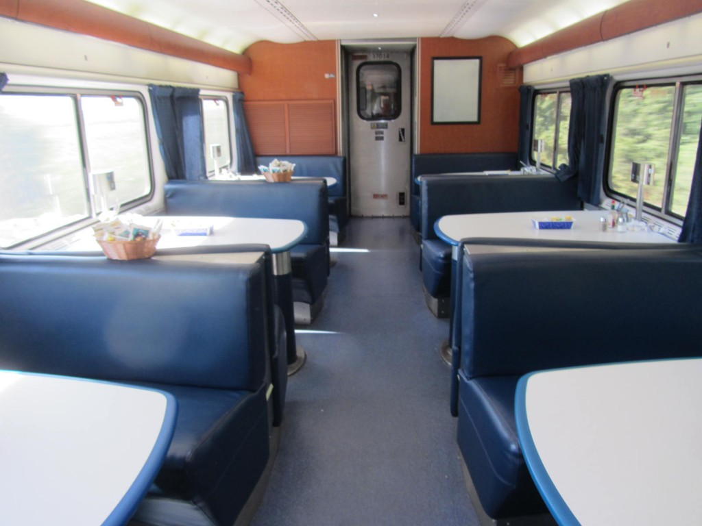 Amtrak - dining car