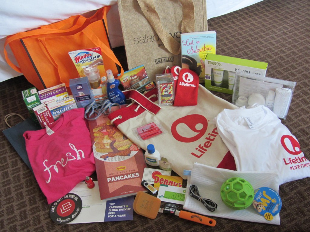 Good swag from BlogHer '13