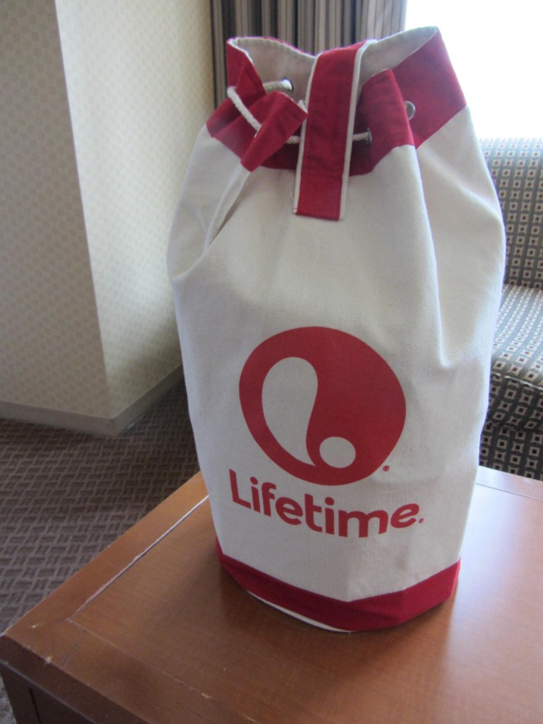 Best swag bag from LIfetime