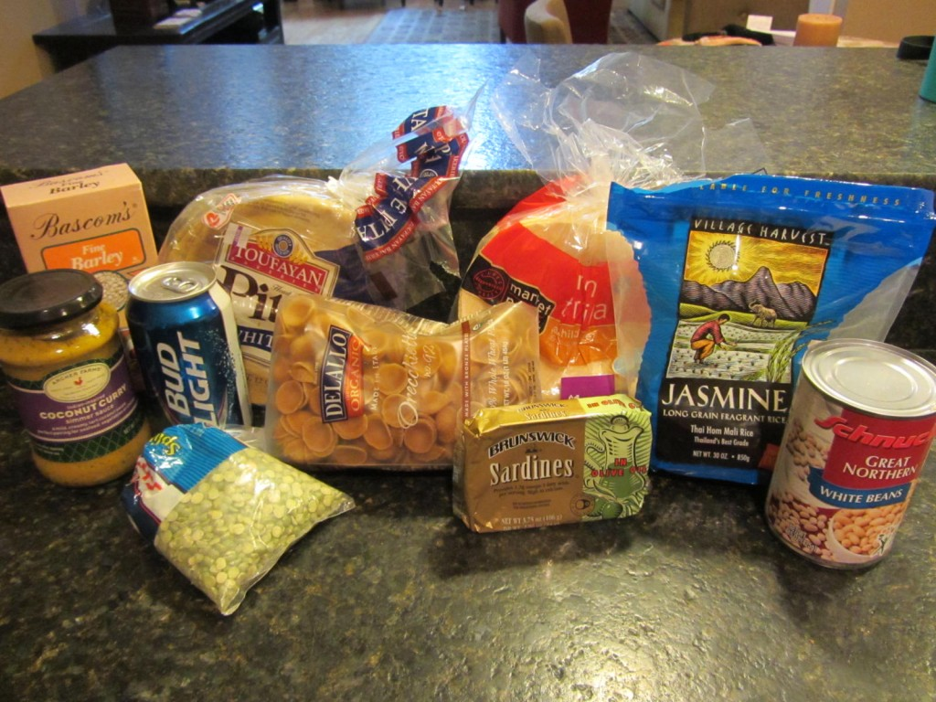 Karen's pantry items giveaway game