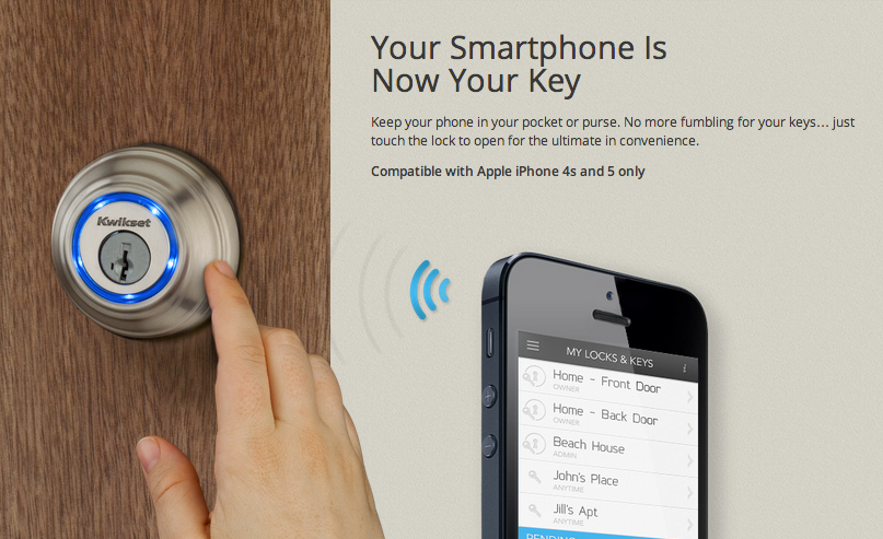 Kwikset Kevo Lock Turns Your Smartphone into Your House Key