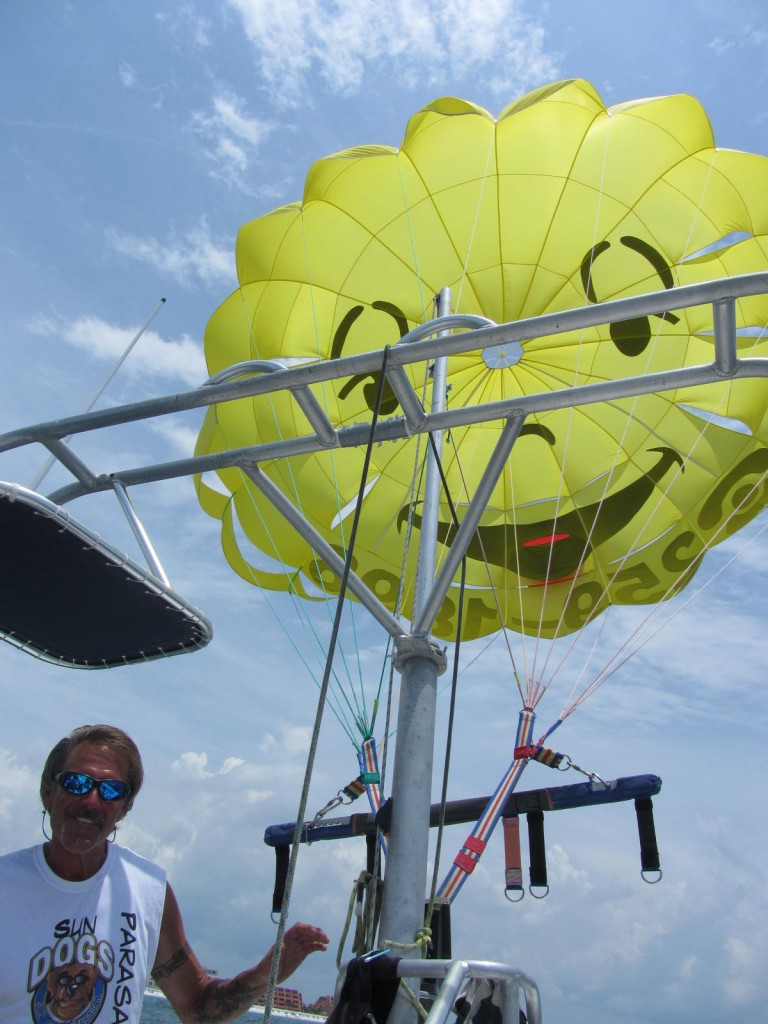 Sun Dogs Parasail equipment