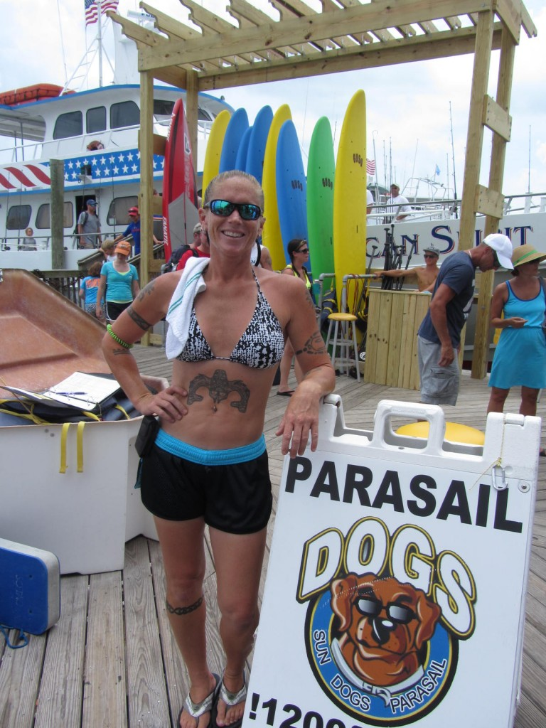 Owner of Sun Dog Parasail