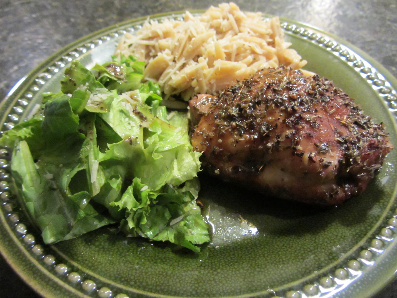 Easy Chicken Recipe ~ Balsamic Baked Chicken